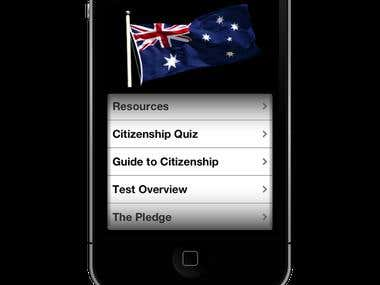 Australian Citizenship Pro iPhone App