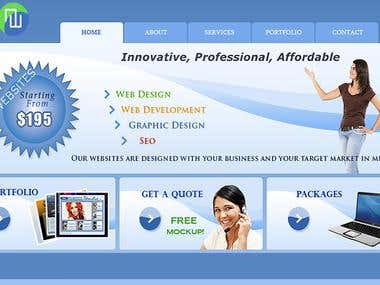Marketing Service for Webdesign Company