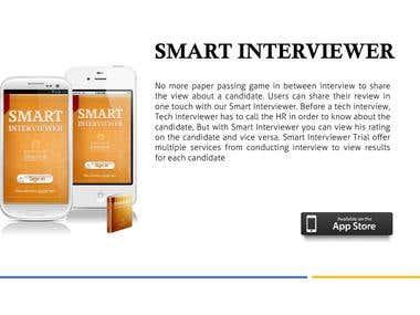 Smart Interviewer App