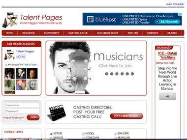 talentpages.com - USA's Largest Online Community of Talent