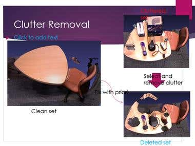 3D clutter removal