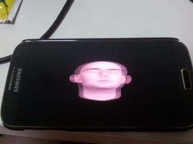 3D transparent Screen - a