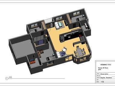 Family house 3D