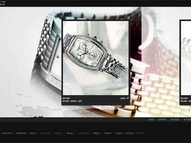Kronos Watches (award winning site)