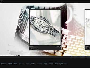Kronos Watches (award winning site)