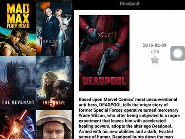 Movies Android Application
