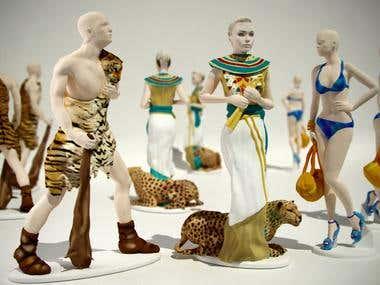 3d printing - figurines