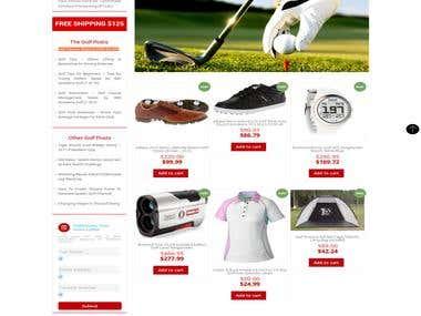 Wordpress - http://www.golfboxusa.com/