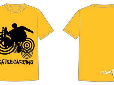 T-shirt design for manchabrand