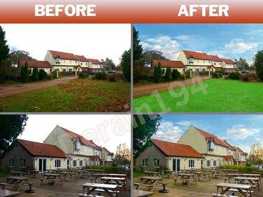 Real Estate Retouch