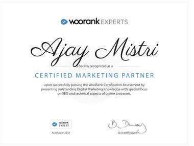 WooRank Certified Marketing Partner