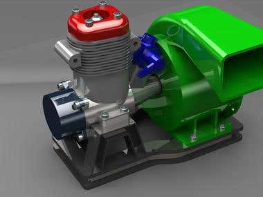ENGINE BLOWER DESIGN