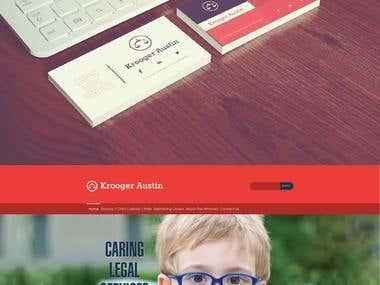 Krooger Austin (Law Website)