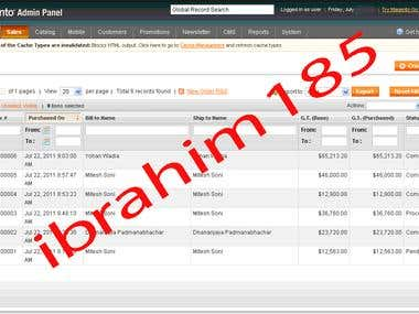 Magento Variable Product Listing