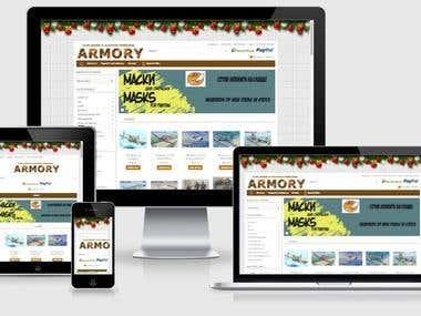 armoryhobbyshop.com