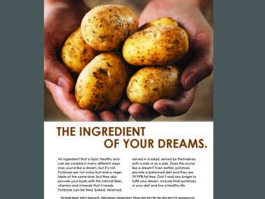 Tentative Institutional Ad for the Potato Board