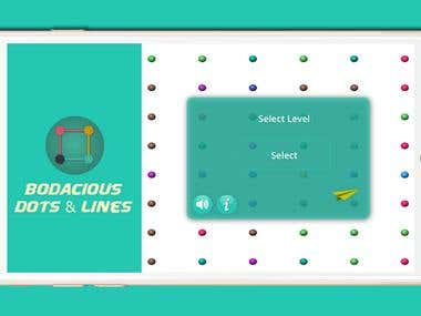 Artificial Intelligence Dots and Lines Game (Android + iOS)