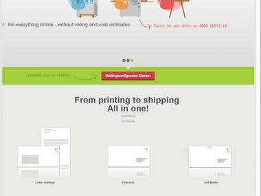 Online Printing /Press/Web To Print
