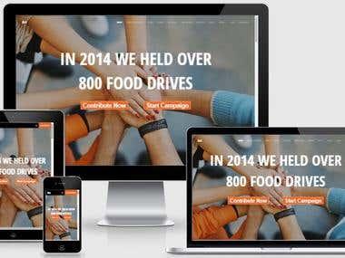Crowdfunding fundraising website