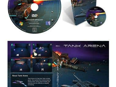 Design of a DVD and a DVD box cover