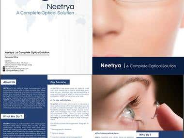 Brochure For Opticals