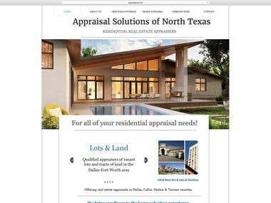 Appraisal Solutions - Web Copy