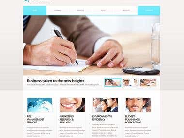 Marketing Agency Website