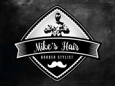 Mike's Hair - Logodesign