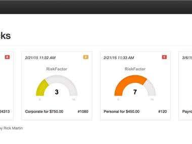 RiskFactor CVS (Check Verification System)