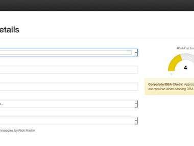 RiskFactor CVS Real Time API