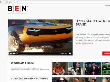 BEN - first branded entertainment network