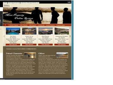 Property Management Website