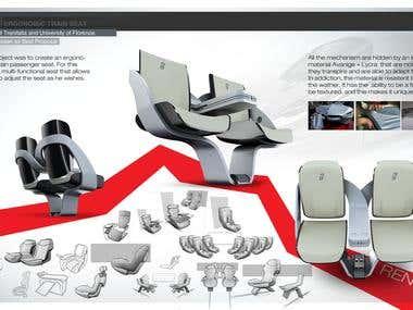 Concept project for Trenitalia