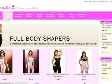 ECommerce Portal for Women Specialized Clothing