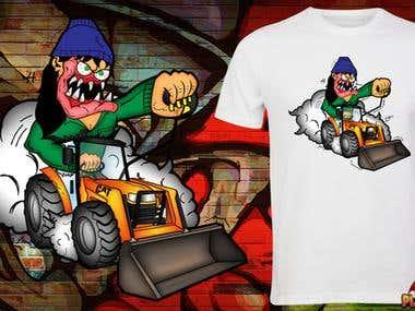 T-shirt Design for Plowfreaks USA
