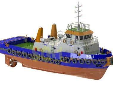 TugBoat Modeling