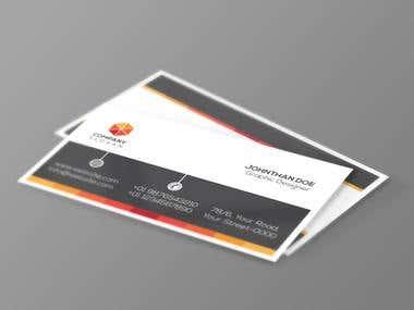 Simple & Creative Business Card Design