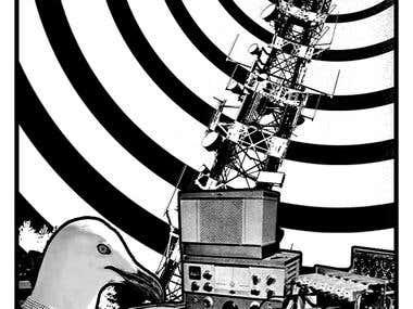 Bird radio operator