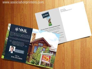 Realtor postcard