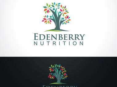 Logo design for Edenberry Nutrition Ltd