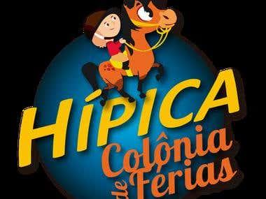 Logo Colonia de Férias da Hípica