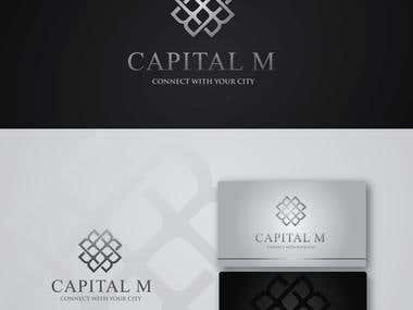 Logo and branding for Luxury Commercial Real Estates Firm