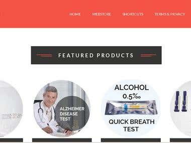 Joomla webstore (Virtuemart)