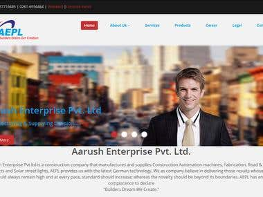 Aarush Enterprise Pvt. ltd.