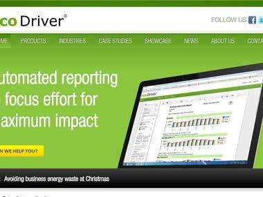 ecodriver.co.uk custom CI based CMS