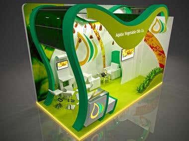 Aqaba exhibition stand design