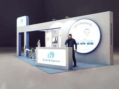 Bioiberica exhibition stand design