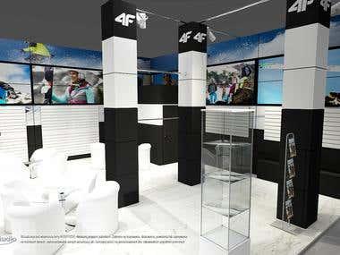 4F exhibition stand design