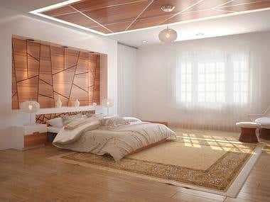 Master Bed Room .