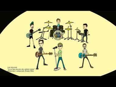 Animated Videoclip